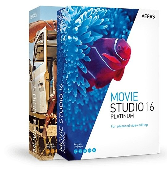 MAGIX VEGAS Movie Studio 16.0.0.158 / 16.0.0.167 Platinum