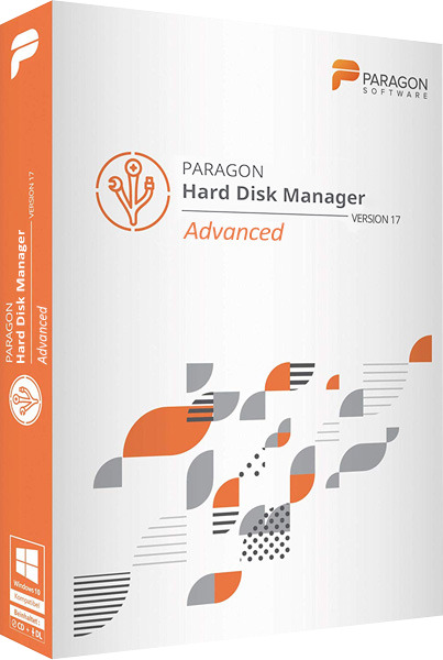 Paragon Hard Disk Manager 17 Advanced 17.13.1