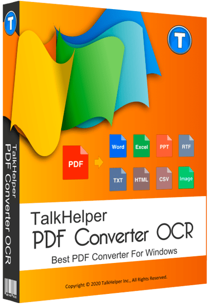 TalkHelper PDF Converter OCR 2.3.2.0