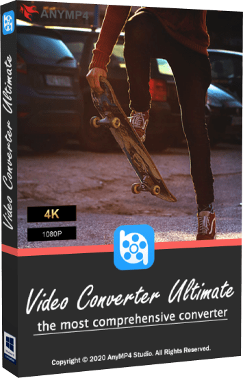 AnyMP4 Video Converter Ultimate 8.1.16 + Rus