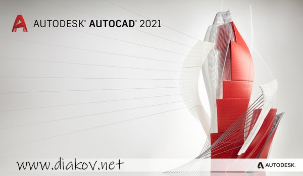 Autodesk AutoCAD 2021 + Mechanical / Electrical / Architecture / MEP / Plant 3D / Map 3D