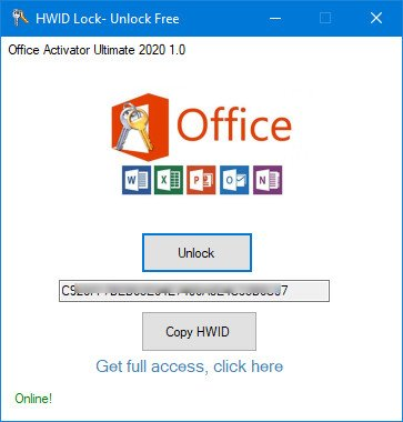 Office Activator Ultimate 2020 1.0