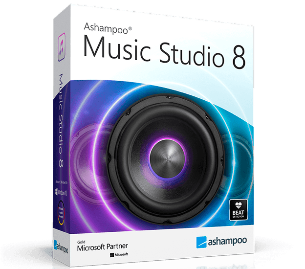 Ashampoo Music Studio 8.0.3.2 + Portable