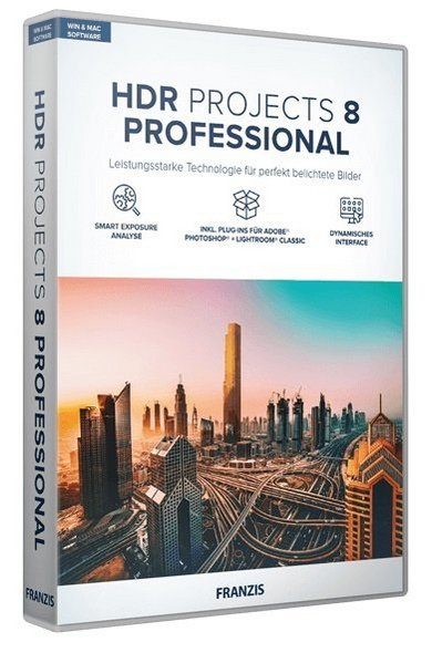 Franzis HDR projects 8 professional 8.32.03590 + Rus