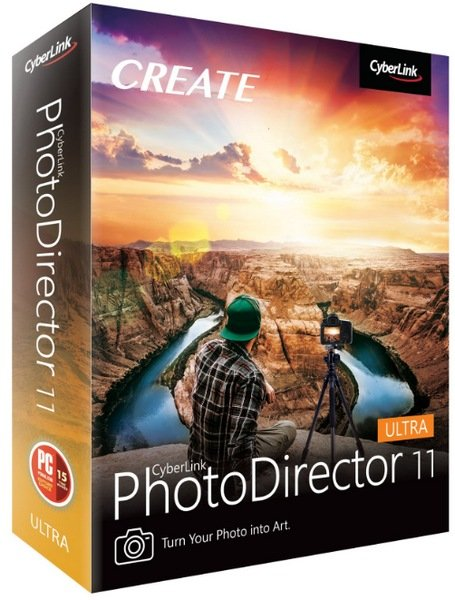CyberLink PhotoDirector Ultra 11.6.3018.0 + Rus