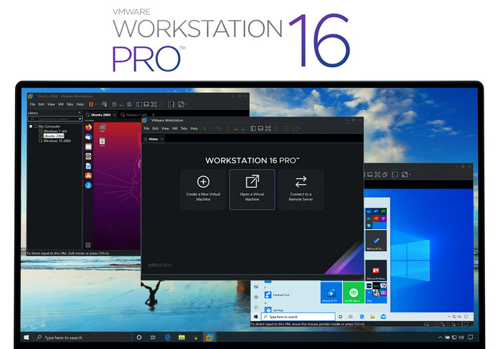 VMware Workstation Pro 16.0.0 Build 16894299