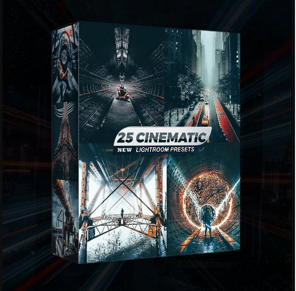 GraphicRiver - 25 Cinematic Lightroom Presets