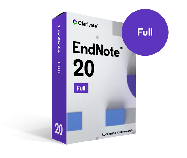 EndNote 20.0.1 Build 15043