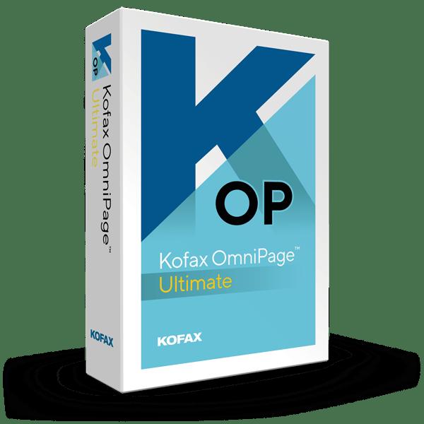 Kofax OmniPage Ultimate 19.2