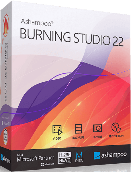 Ashampoo Burning Studio 22.0.5 Final + Portable