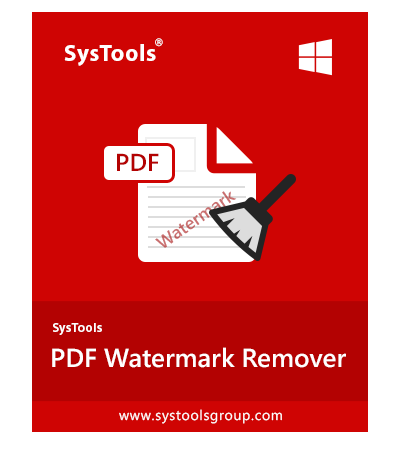 SysTools PDF Watermark Remover 4.0