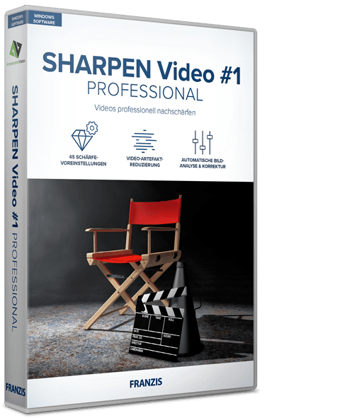 Franzis SHARPEN Video #1 professional 1.19.03607 + Portable