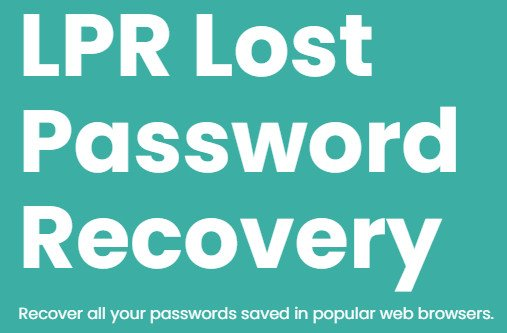 LPR Lost Password Recovery 1.0.4.0 + Portable